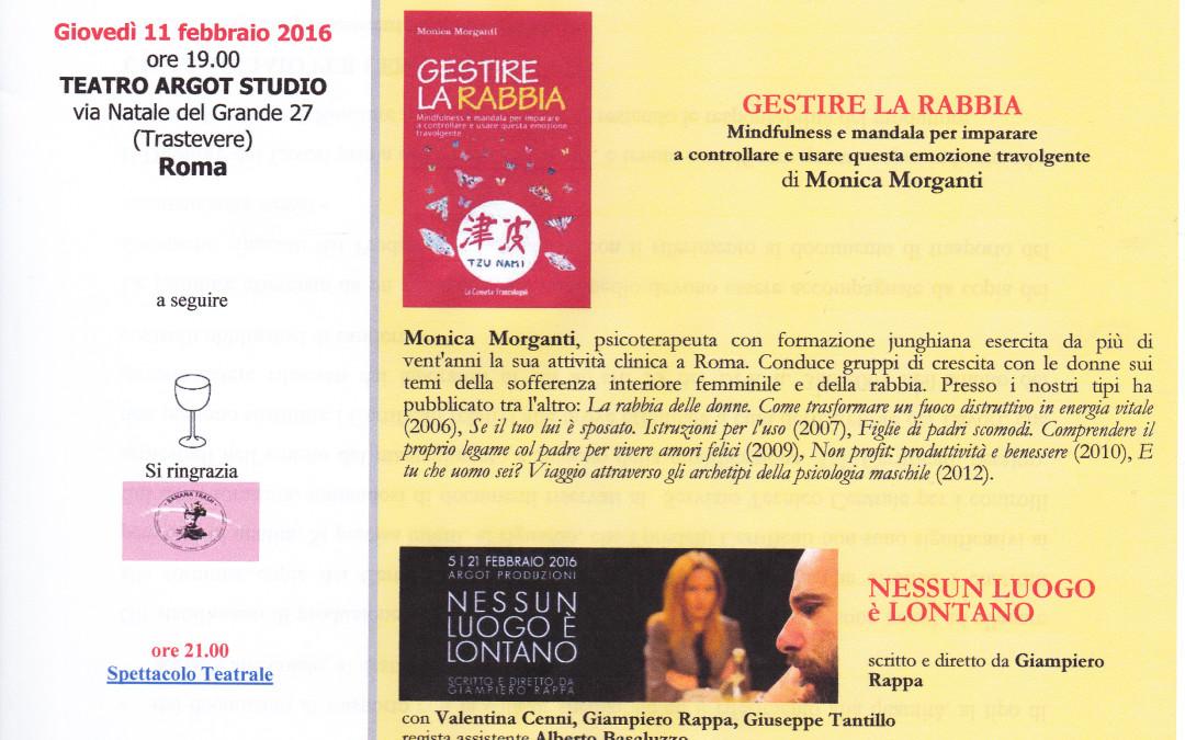INCONTRA IL TUO AUTORE | 11.02.2016 Teatro Argot Studio, Roma