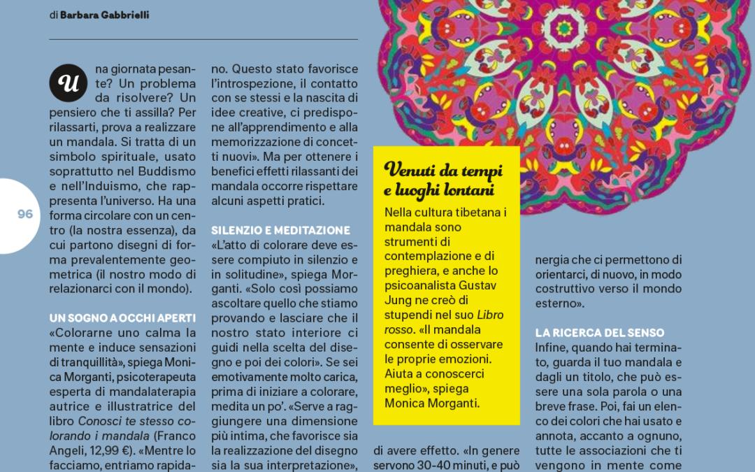 Il bello della Mandalaterapia   articolo di Barbara Gabbrielli sul settimanale Starbene
