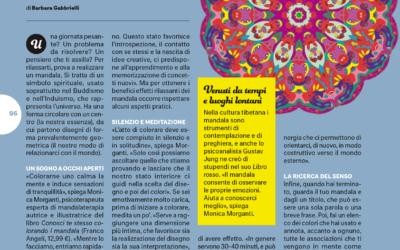 Il bello della Mandalaterapia | articolo di Barbara Gabbrielli sul settimanale Starbene