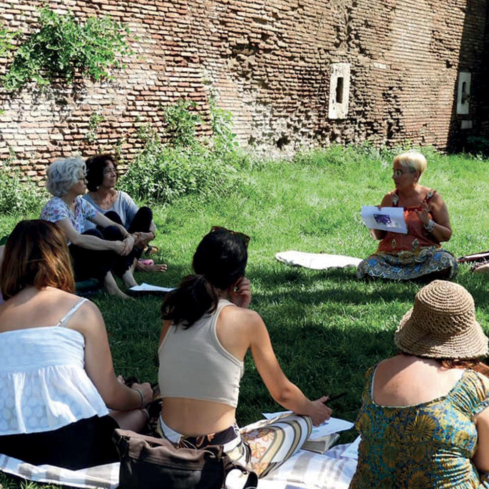 incontro di mandalaterapia 3 luglio 2021 Giardini di San Giovanni